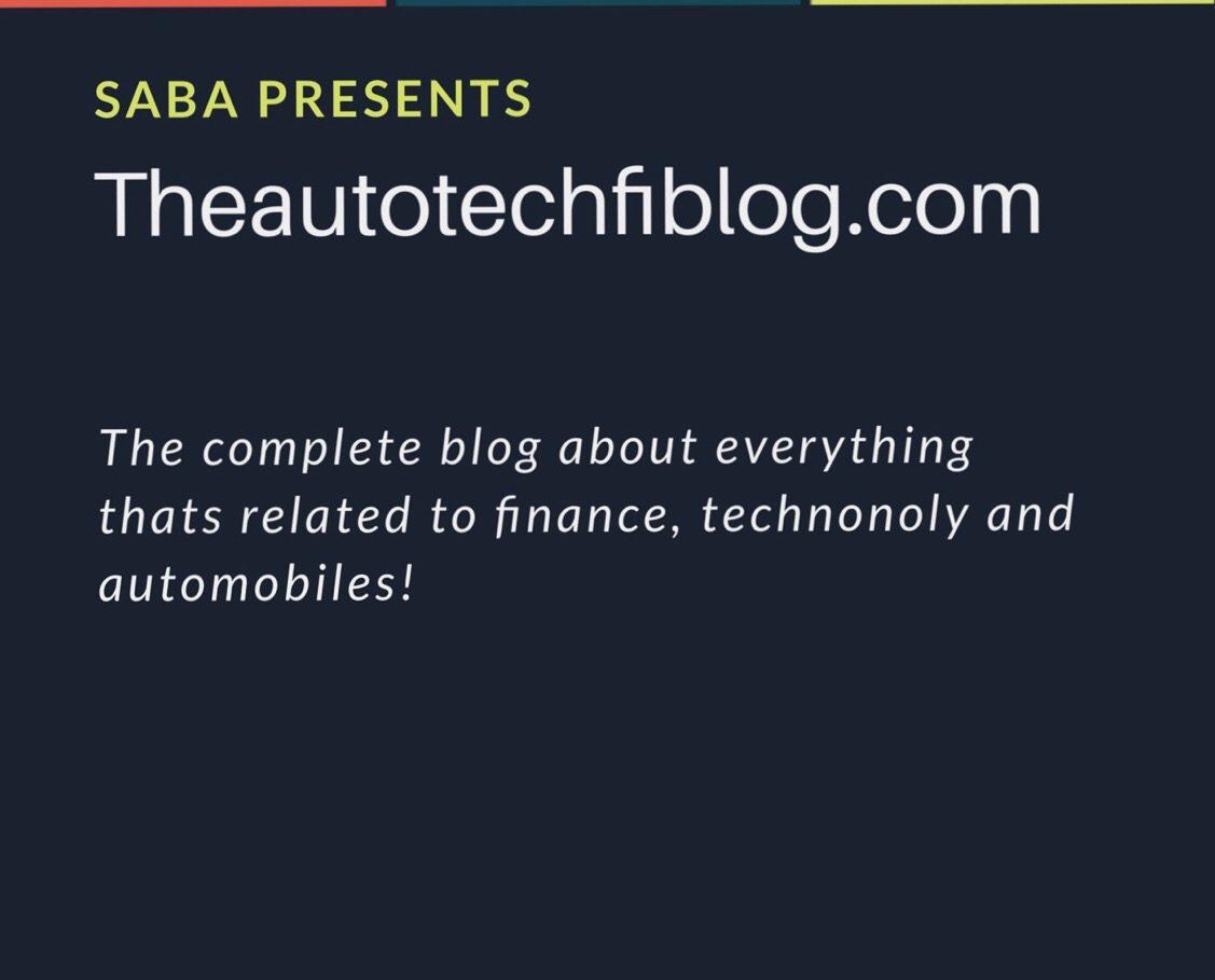 Theautotechfiblog